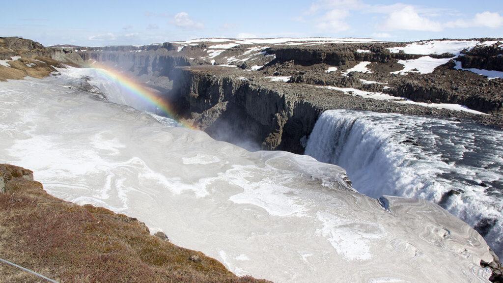Island Wasserfall auf Island