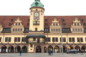 Rathaus von Leipzig
