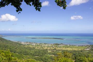 Insel Mauritius Panorama
