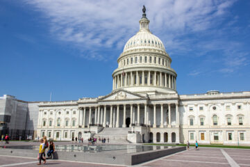 Kapitol in Washington DC USA