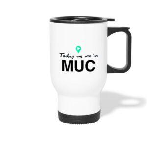 München Tasse für Kaffee theTravellers