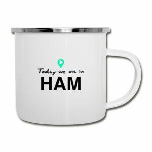 Hamburg Tasse theTravellers in 5 Minuten