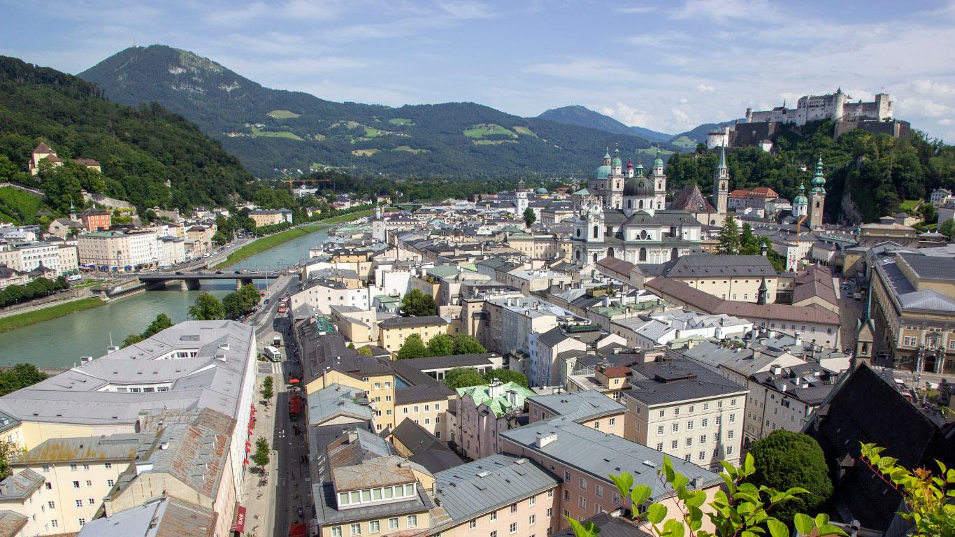 Salzburg in 5 Minuten Reiseblog