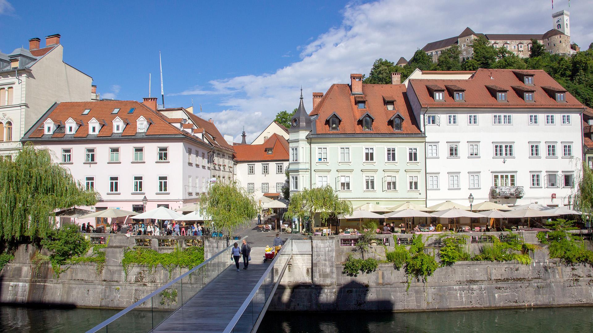 Ljubljana in 5 Minuten Reiseblog theTravellers
