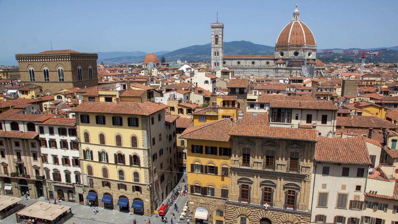 Florenz in 5 Minuten theTravellers